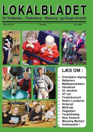 jan....... udgave 2003 + for- og bagside - Lokalbladet - For Vinderslev ...