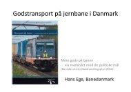 Hans Ege, Banedanmark - Trafikdage.dk