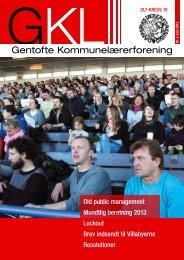 GKL-bladet juni 2013 - Gentofte Kommunelærerforening