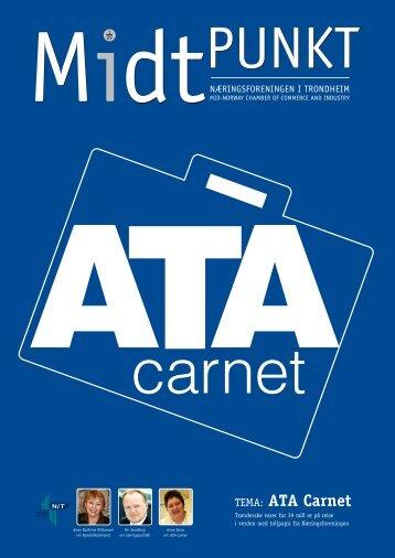 TEMA: AtA Carnet - Næringsforeningen i Trondheim