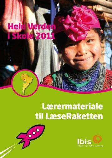 Lærermateriale 2011 - Hele Verden i Skole
