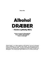 Klik her for at hente et gratis uddrag fra bogen Alkohol ... - AlkoStop.dk