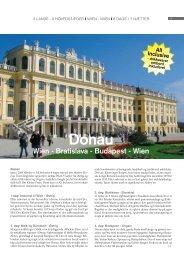 Wien - Bratislava - Budapest - Wien - Orkiderejser