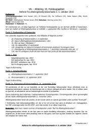 Referat fra afdelingsbestyrelsesm%F8det 5 oktober 2010 - Hyldenet