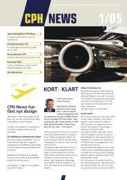 CPH News 1/05 - Københavns Lufthavne
