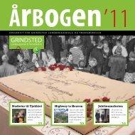 Årbogen 2011 - Grindsted Landbrugsskole
