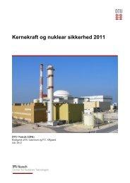 Kernekraft og nuklear sikkerhed 2011 - Danmarks Tekniske Universitet