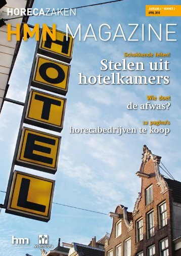 ApRil 2010 HMN Magazine - Horecamakelaars Nederland