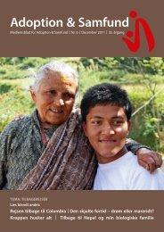 tema: tilbagerejser - Adoption og Samfund