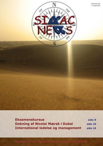 SIMAC NEWS nr. 20