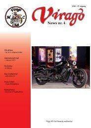 News nr. 4 - Virago MC Tur Klub