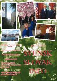 SSI 3-12 - Švédsko Slovenský spolok