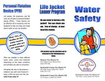 Download the Life Jacket Loaner Program Brochure - Snohomish ...