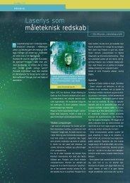 Side 8-11: Laserlys som måleteknisk redskab