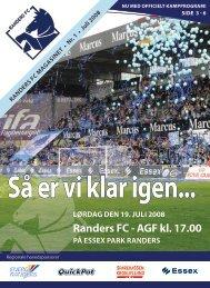 juli 2008 - Randers FC vs AGF
