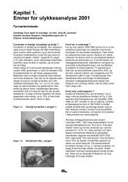 Ulykker 2001, Tilskadekomne registreret på skadestuen, Odense ...