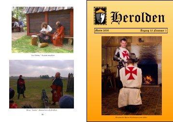 Marts - Herolden