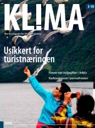 Klima 3-2010 - CICERO Senter for klimaforskning - Universitetet i Oslo