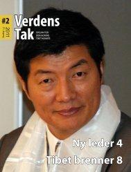 Verdens Tak 2-2011.pdf - Den norske Tibet-komité