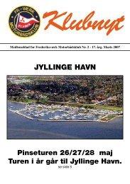 JYLLINGE HAVN - Frederiksværks Motorbådsklub
