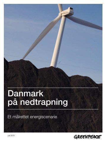 Dansk energiscenario. - Greenpeace