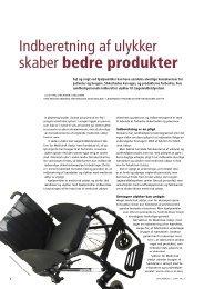 Indberetning af ulykker skaber bedre produkter - Hjælpemidler