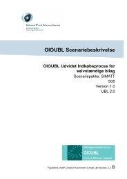 OIOUBL Scenariebeskrivelse OIOUBL Udvidet Indkøbsproces for ...