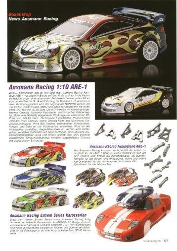 Ilnsmann Racing 1:10 ARE-1 - Ansmann