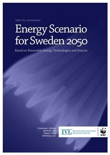 Energy Scenario for Sweden 2050