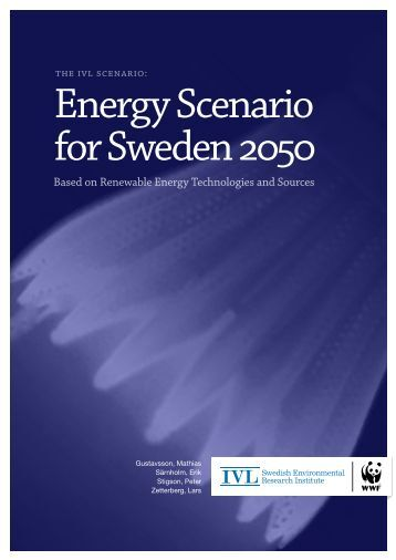 Energy Scenario for Sweden 2050