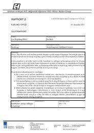 Kjøling i bygg. Rapport 2, sluttrapport. 15.12.2011 - Statsbygg