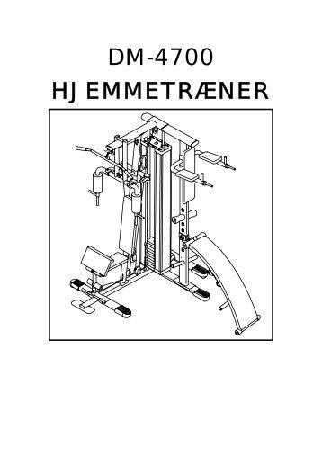 DM-4700 HJEMMETRÆNER