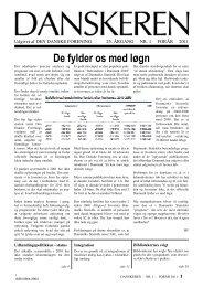 DANSKEREN nr. 1 - 2011 - Den Danske Forening