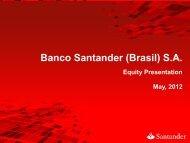 Banco Santander (Brasil) S.A.