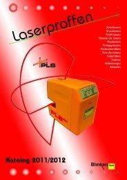 Streklasere Krysslasere Punktlasere Roterende ... - Blinken Tools