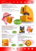 Streklasere Krysslasere Punktlasere Roterende ... - Blinken Tools - Page 2