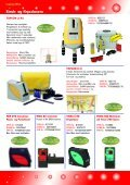 Streklasere Krysslasere Punktlasere Roterende ... - Blinken Tools - Page 4