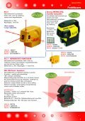 Streklasere Krysslasere Punktlasere Roterende ... - Blinken Tools - Page 5