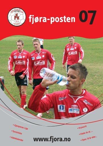Fjøraposten 2007