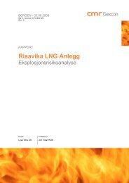 Risavika LNG Anlegg - Lyse