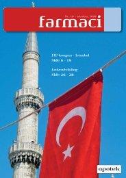 FIP-kongres - Istanbul Side 6 - 19 Lederudvikling Side 26 - 28 - Elbo