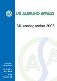 Miljøredegørelse 1998-2002
