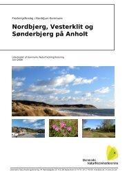 Nordbjerg, Vesterklit og Sønderbjerg på Anholt - Anholt.dk
