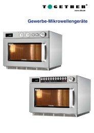 Gewerbe-Mikrowellengeräte - Together GmbH