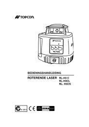 ROTERENDE LASER RL-H3 C - Mol Verhuur