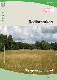 Plejeplan Radiomarken 2012-2016.pdf - Gladsaxe Kommune