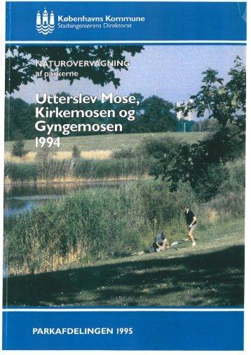 Naturovervågning Utterslev Mose 1994