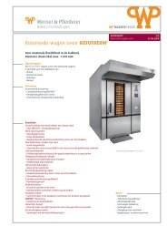 Roterende wagen oven ROTOTHERM®