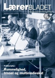 Rummelighed, trivsel og multimedieskat - Danmarks Lærerforening ...