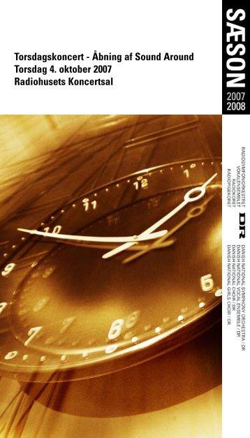 Torsdagskoncert - Åbning af Sound Around Torsdag 4. oktober ... - Dr